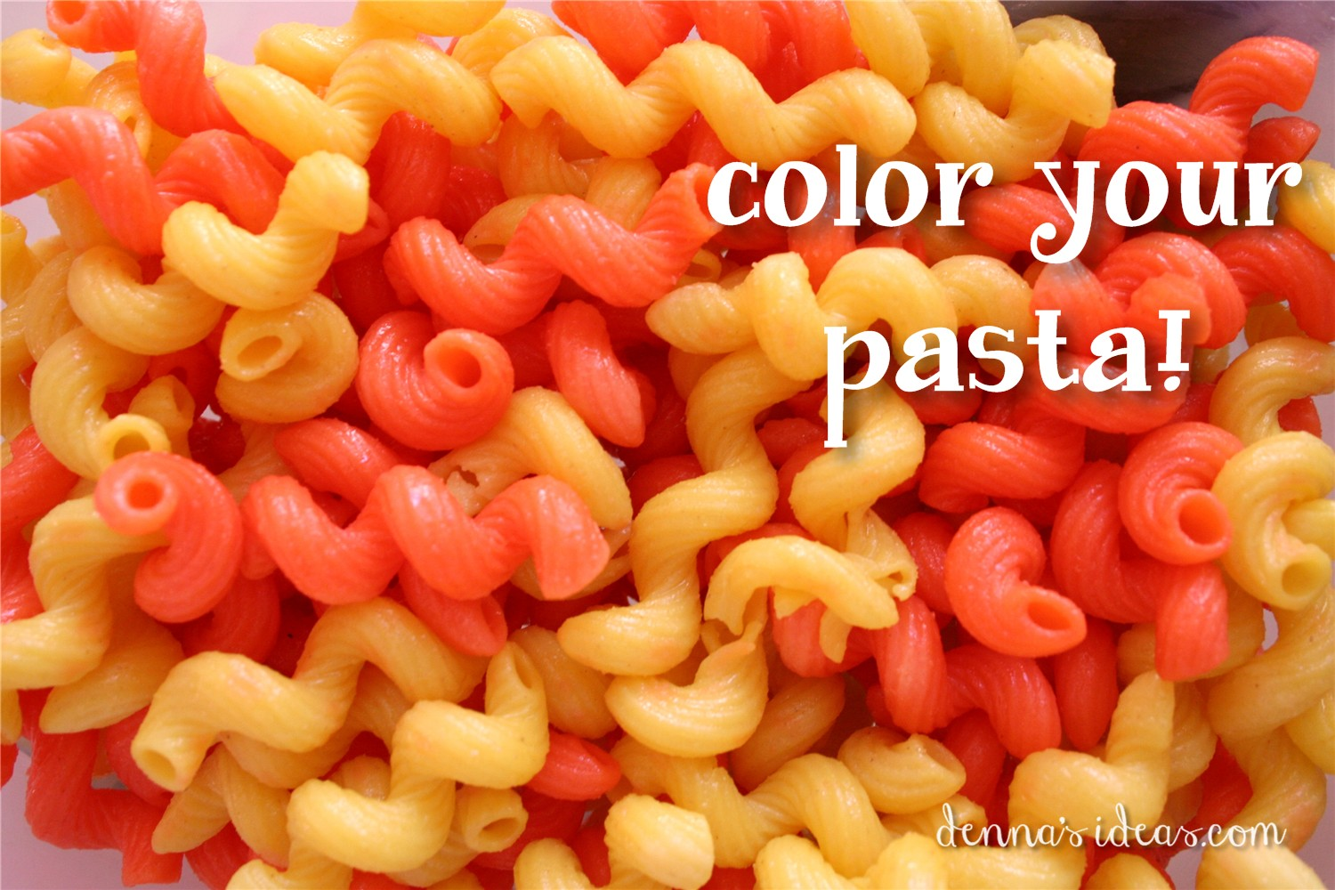 Dennas Ideas Pasta Salad Party Food For A Lalaloopsy How To Color