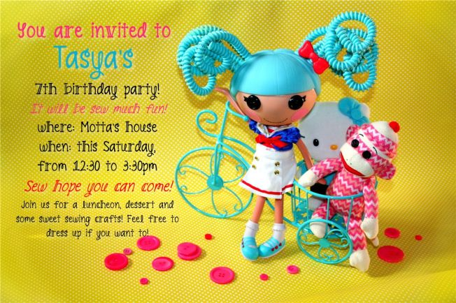 lalaloopsy party invite by dennasideas.com - Page 075