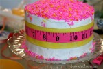 How to make an easy Lalaloopsy Cake or Sewing Party Cake with Sprinkles