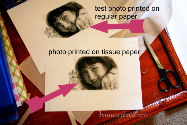 Easy DIY Photo Canvas by dennasideas.com -