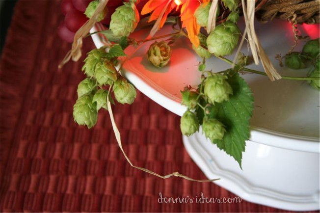 DIY Fall decor ideas by dennasideas.com