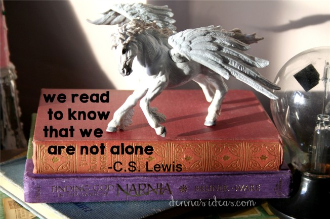 C.S. Lewis quote, on dennasideas.com