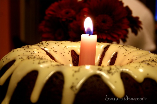 denna's ideas: Remembrance Day poppy seed bundt cake recipe