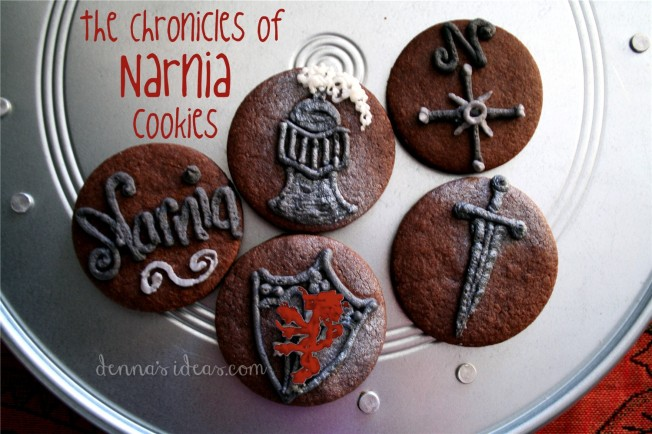 Chronicles of Narnia cookies by dennasideas.com