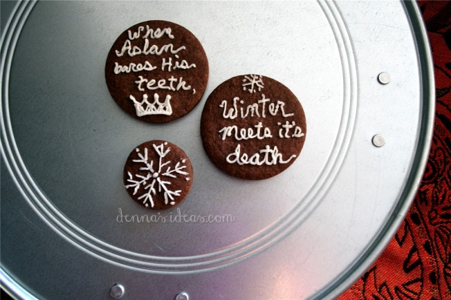 Narnia cookies by dennasideas.com