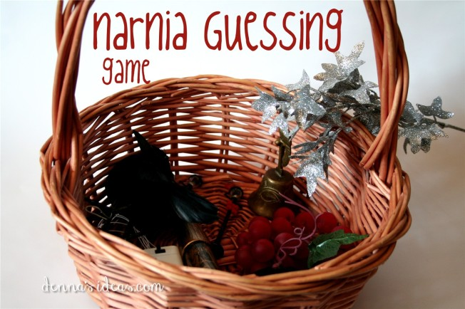 Narnia Guessing Game for kids by dennasideas.com