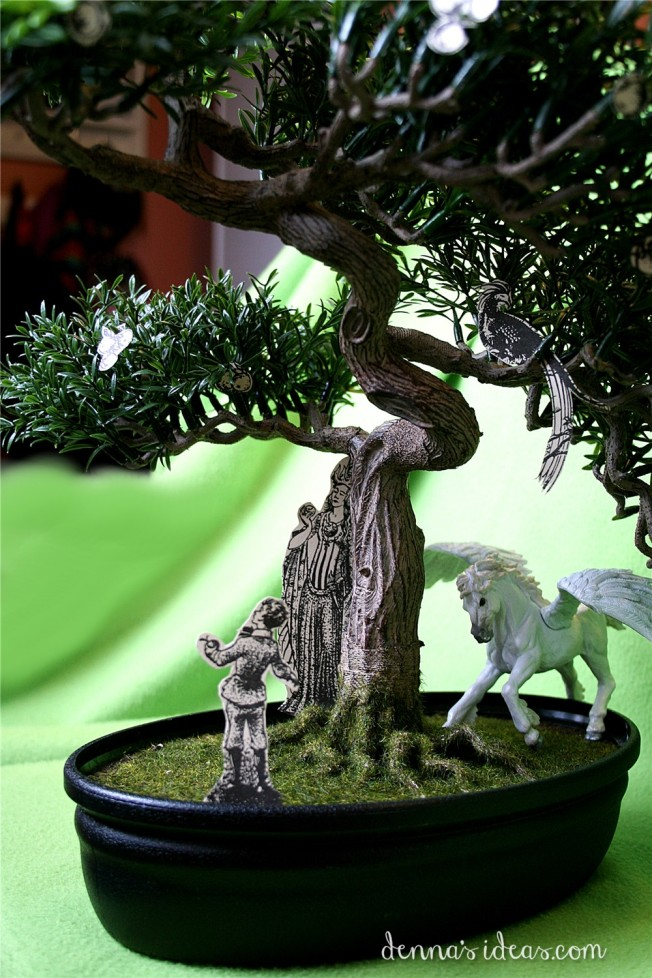 DIY Narnia theme, C.S. Lewis, The Magician's Nephew by dennasideas.com