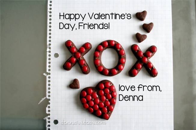 happy valentines day from dennasideas.com