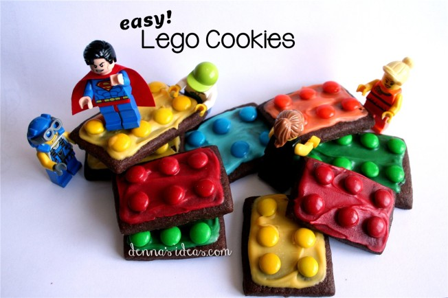 how to make easy Lego brick cookies by dennasideas.com - Page 003