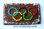 Winter Olympics Cookies with M&Ms and my fav Olympic events
