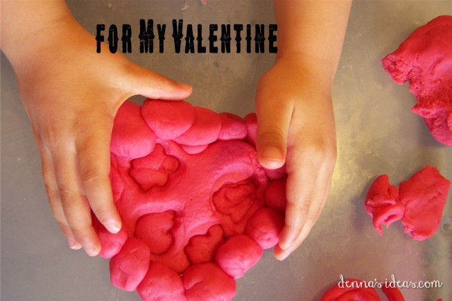 Pink Dough for Preschool Valentines by dennasideas.com - Page 006