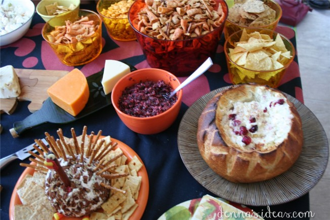 Thanksgiving snack foods by dennasideas.com
