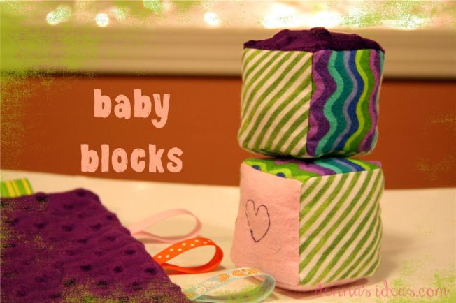 baby taggies and blocks by dennasideas.com - Page 001