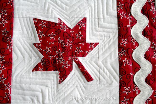 maple leaf quilt block flag by dennasideas.com - Page 006