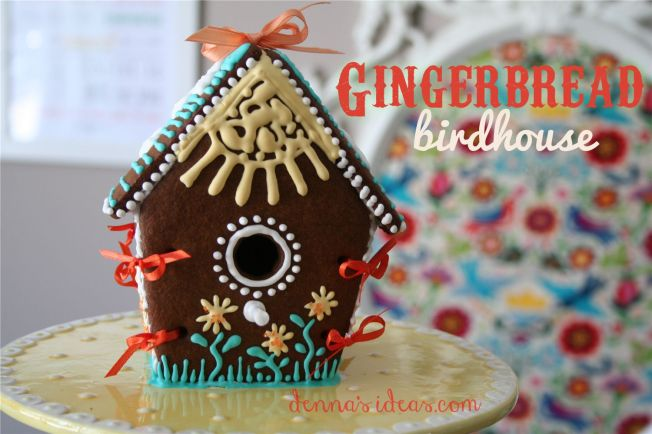 Gingerbread Birdhouse by dennasideas.com - Page 003